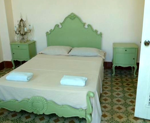 Room at  Casa Habana, just love that old tile