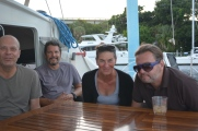 Tom, Pete, Margaret and Lloyd