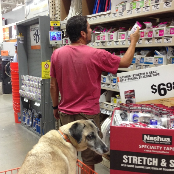 Lots of trips to Home Depot and West Marine