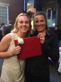 So proud of god daughter Sophie's high school graduation.