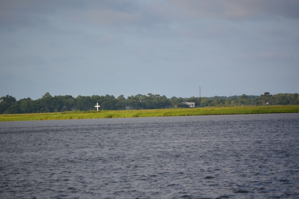 cross in wet lands