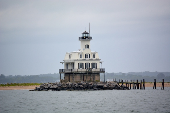 Bug Light welcomes you to Orient Harbor