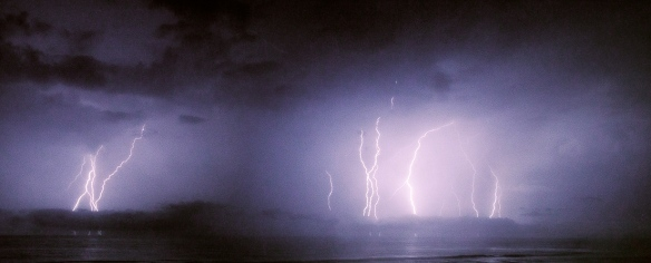 Hatteras lightening show
