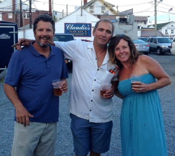 Night out in Greenport.