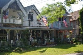 Oak Bluffs' gingerbread cottages