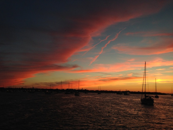 Beautiful Nantucket sunset