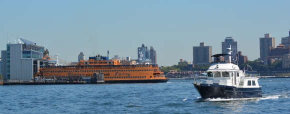 Pegasus and the Staten Island Ferry