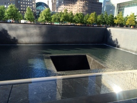 First visit to 9/11 memorial