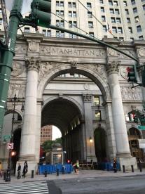 Manhattan arch