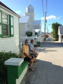 The mean streets of Green Turtle Cay