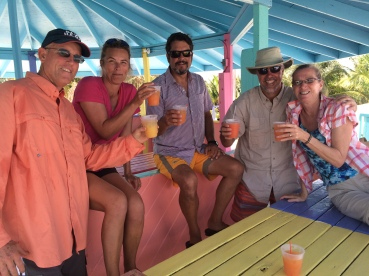 Cheers from Great Guana Cay