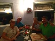Pizza Night at the Rainbow Inn. If you are in Hatchet Bay on a Monday...go.