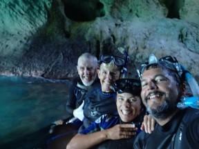 Snorkeling spelunkers