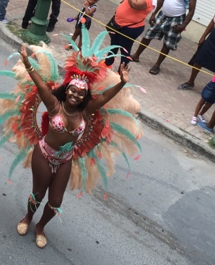 Celebrating Carnival in Sint Maarten