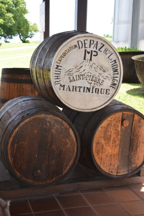 De Paz rum barrels