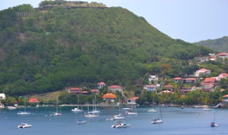 Ile des Saintes anchorage