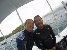 The diving or should we say, plongée is fantastic in Guadeloupe