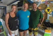 Eric our dive master from tropical subdiving