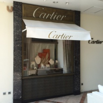 We only use Cartier boat parts