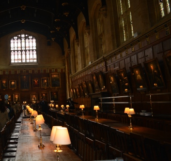 Hogwarts? (Oxford dining Hall)