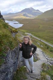 Knockan Crag hike