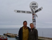 John O'Groats at the top of Scotland