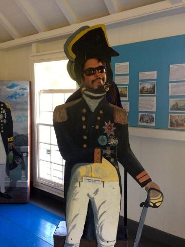 Admiral Nelson I presume