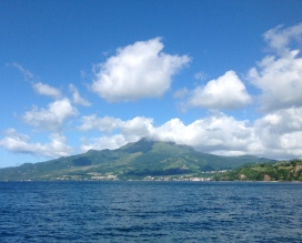 One of my favorite views in all the Caribbean, Mt. Pelee Martinique