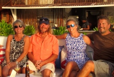 "Beth & Randy ""Gunky"" in St Kitts"