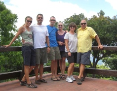 Paul, Janet, Julie & Ken in El Salvador