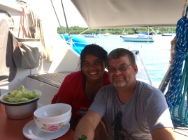 Noi & Scott in the Dominican Republic
